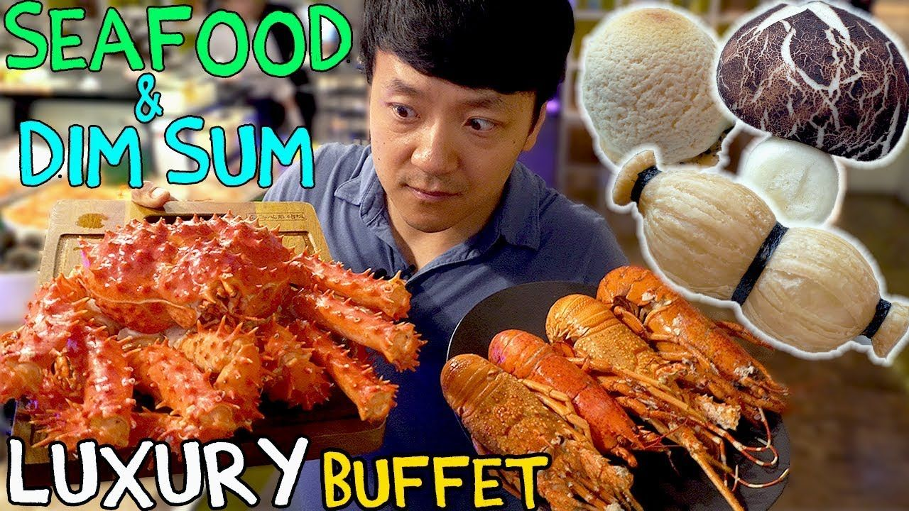 All You Can Eat Seafood Buffet Luxury Dim Sum In Taipei Taiwan Taiwan Seafood Buffet Taiwan Food Dim Sum