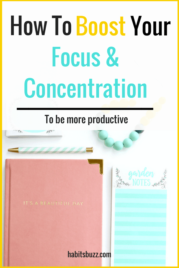 How To Improve Focus And Concentration 7 Proven Tips Improve Focus How To Better Yourself Improve Concentration