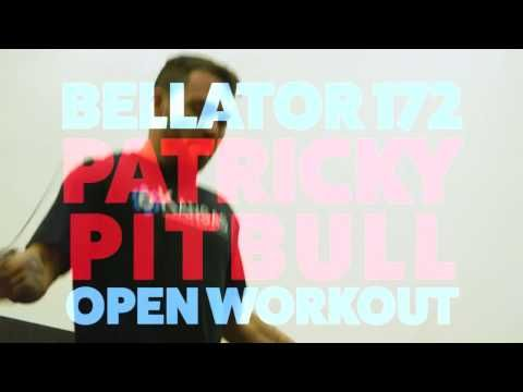 Mma Patricky Pitbull Bellator 172 Open Workout Highlights Workout Ufc News Pitbulls