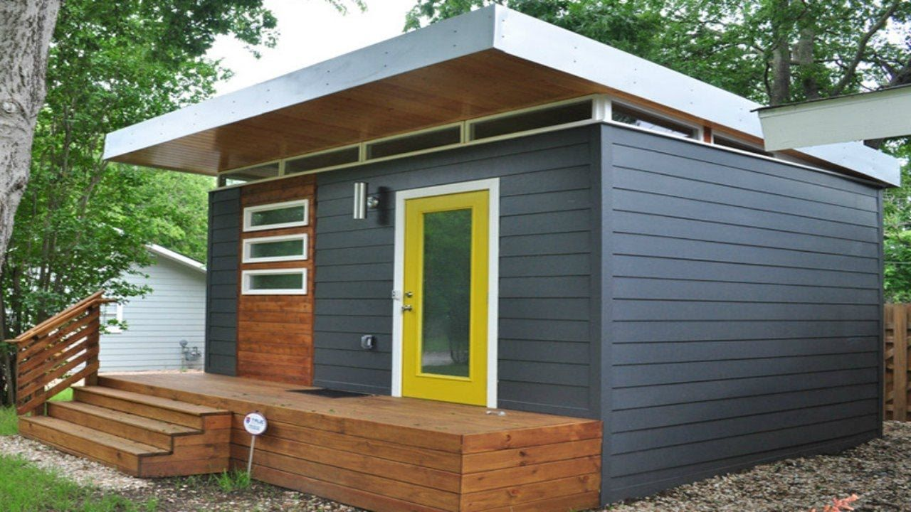 A1 studio type micro house tiny home design ideas for Studio house designs