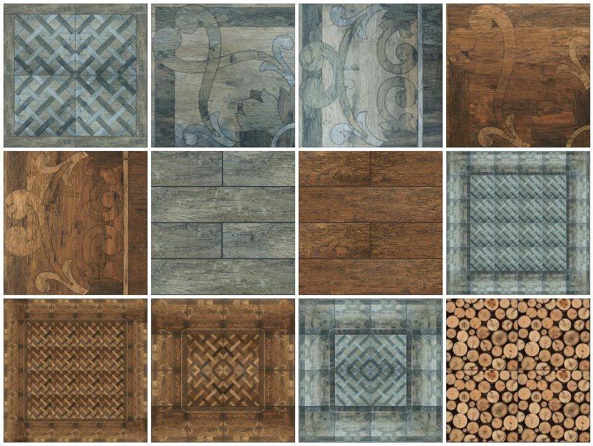 Floor Tiles Wood Rustic Ceramic Tiles 5 Sketchup Texture Texture Floor Tiles Wall Tiles