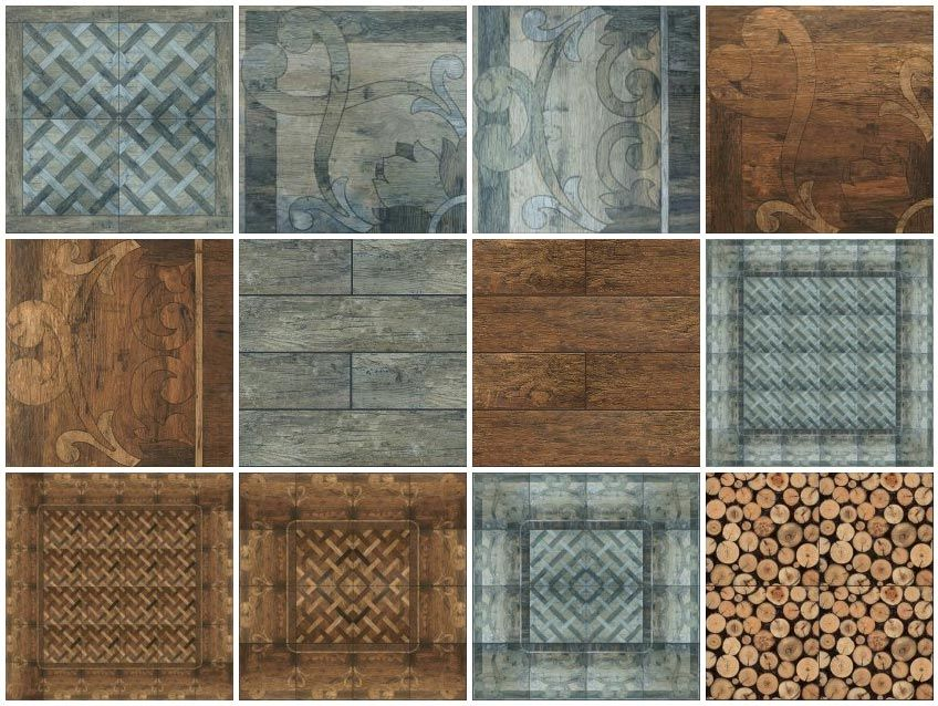 Floor Tiles Wood Rustic Ceramic Tiles 5 Sketchup Texture Texture