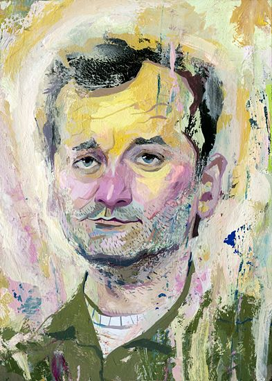 Bill Murray by Rich Pellegrino