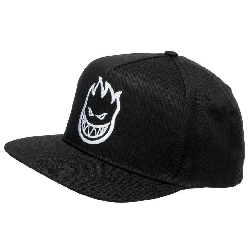feaf637ca1 Spitfire Wheels Snapback Hat Bighead Black White | skate is life in ...