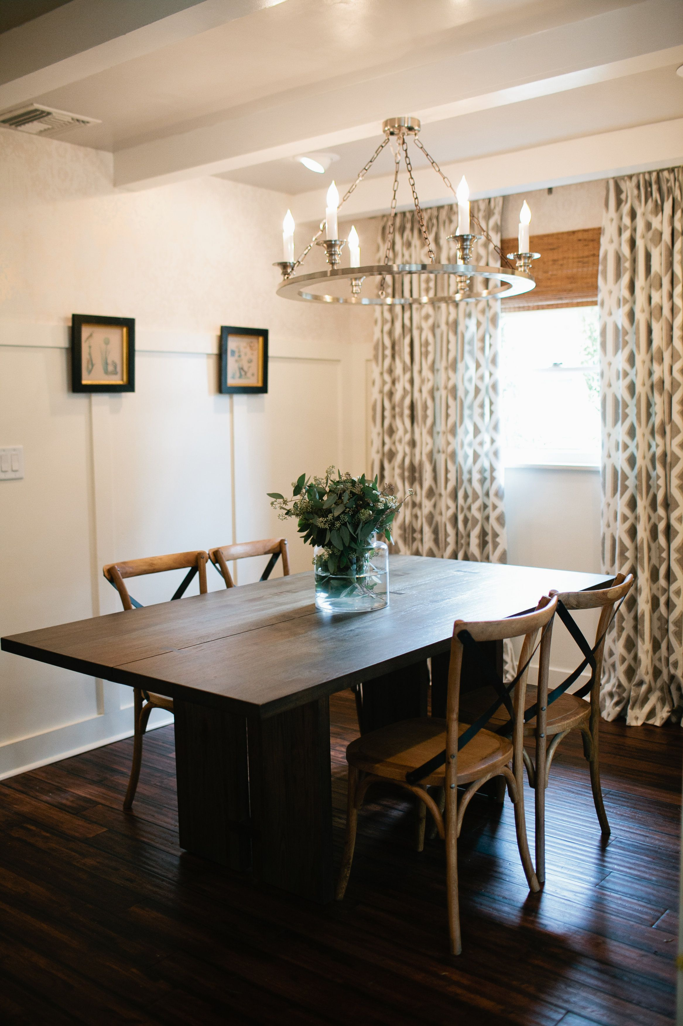 28 Simple Dining Room Ideas For A Stunning Inspiration: Lukas Built This Minimalist Table And Added The Perfect