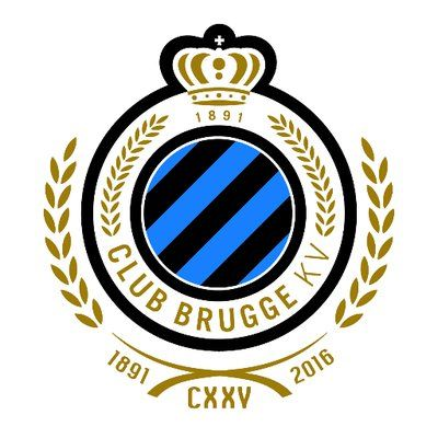 Club Brugge KV Brugge Soccer Logo Football Team