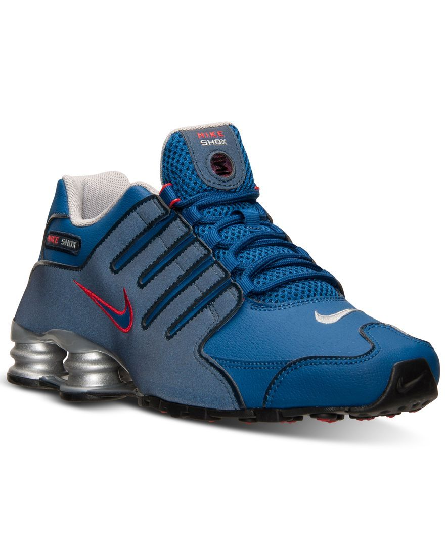 the best attitude d717a 909d7 Nike Men s Shox Nz Eu Running Sneakers from Finish Line