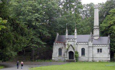 Mt. Hope Cemetery, Rochester, New York- Chapel