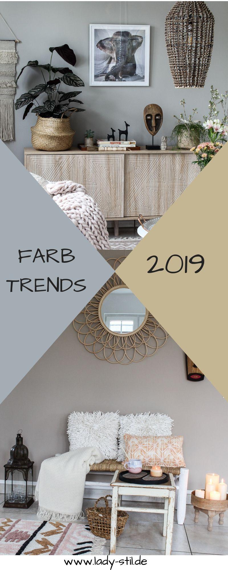 Ist Das Bei Dir Ja Trendfarben 2019 Wande Wohnzimmerfarben