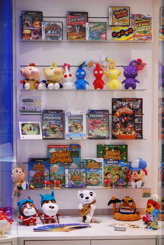 Showcase At Nintendo World Nintendo World Animal Crossing Nintendo Store