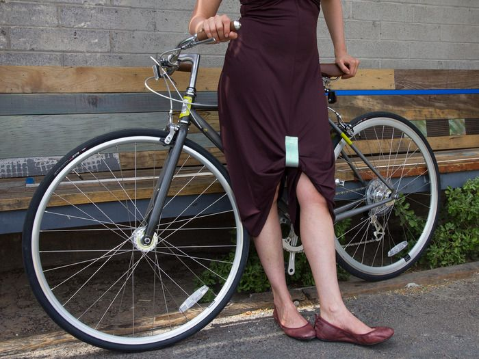 For Skirt Bikers The Katch Holds Longer Skirts Together Keeping