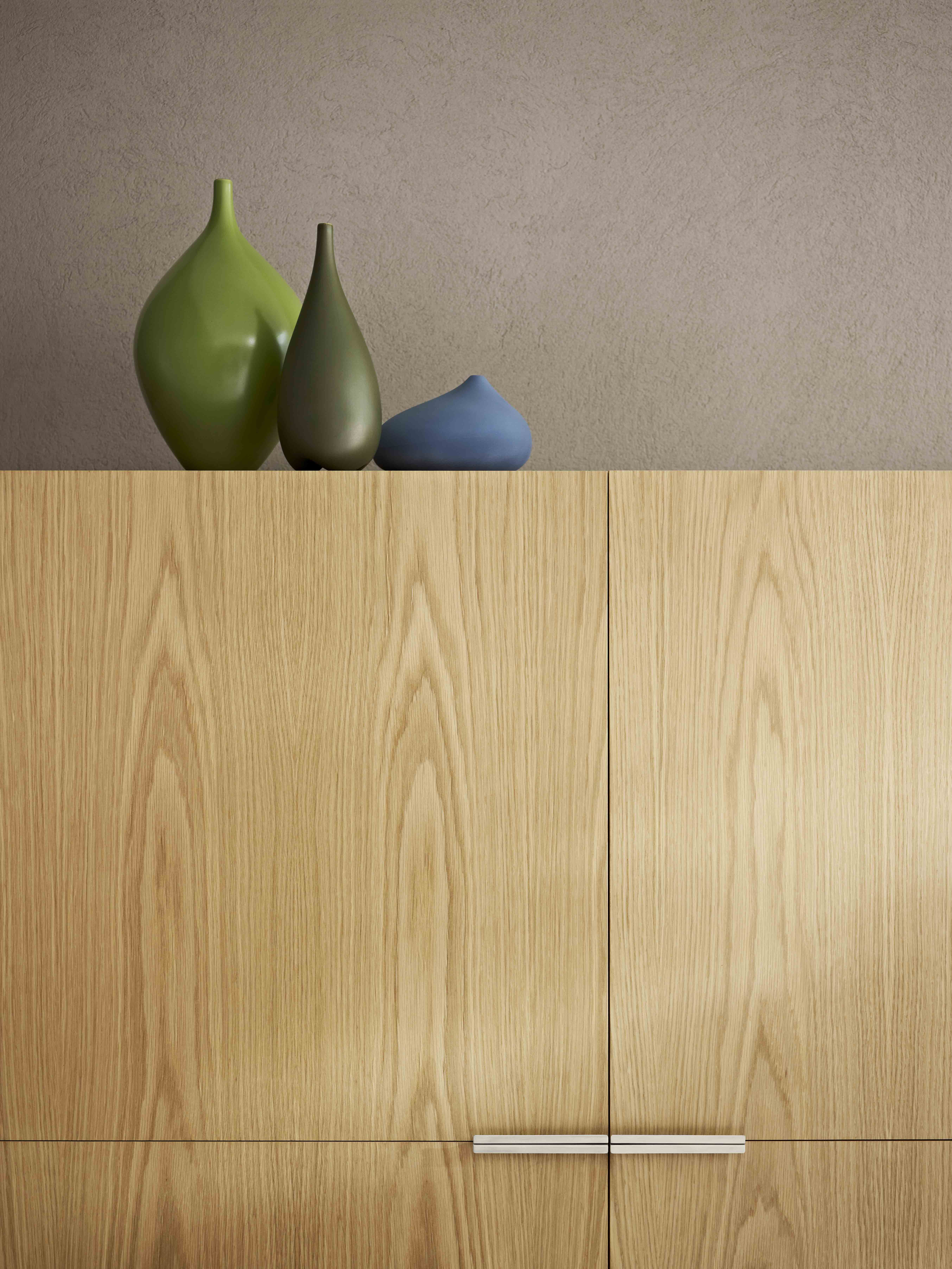 Cabinet Laminex Natural Timber Veneer American White Oak Crown Cut