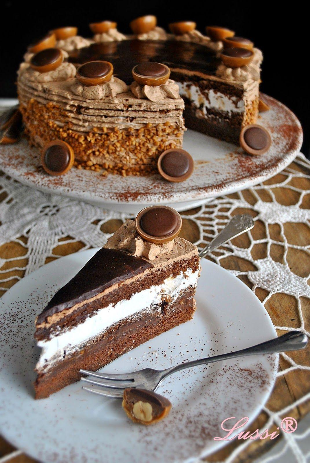 Torta Tofifi Toffifee Cake Torturi Pinterest Torten