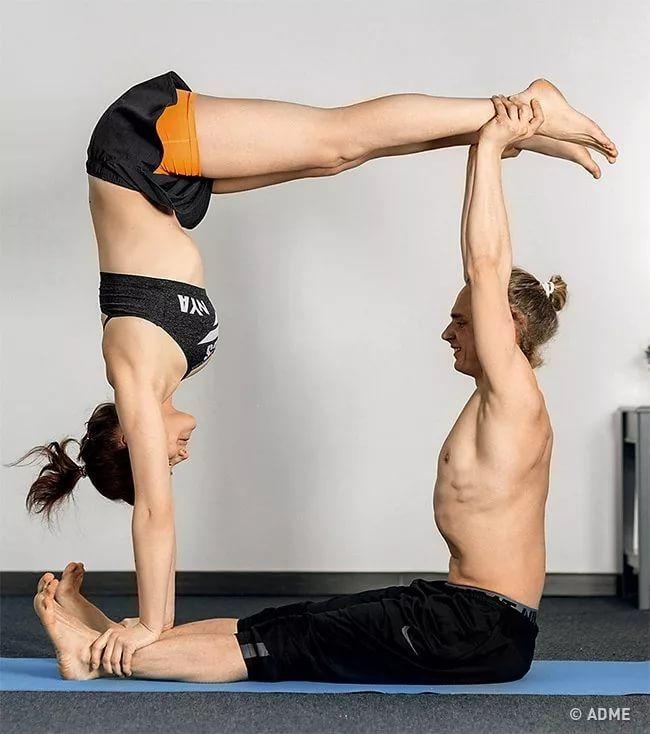 картинки йога на двоих внимание каждой