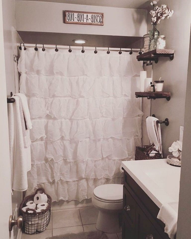 53 Passe Farmhouse Bathroom Remodel Ideas On A Budget With Images