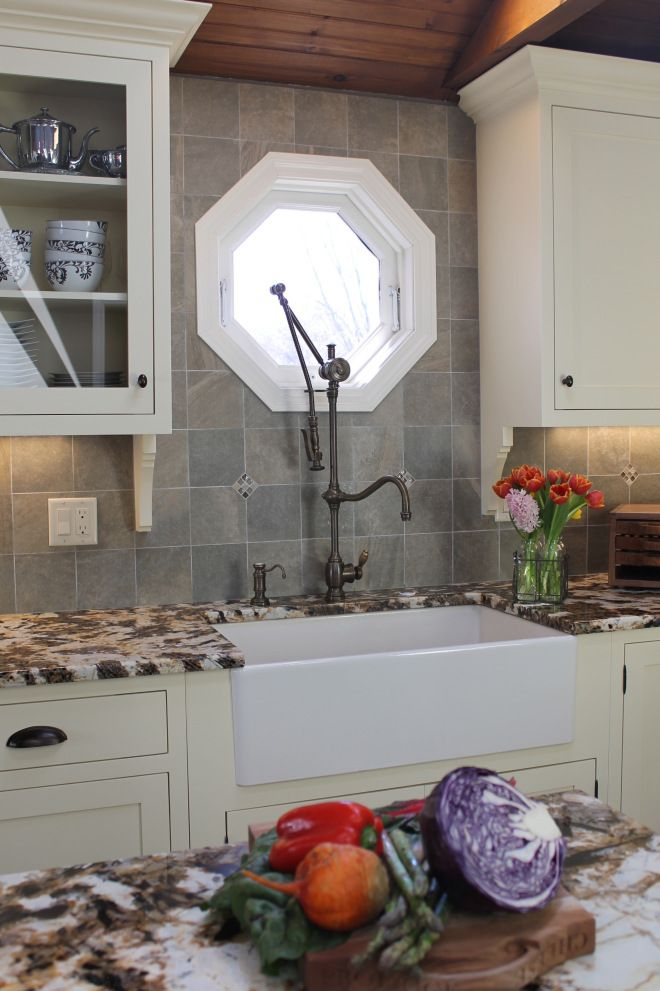Waterstone Gantry faucet & Franke sink. Design by Haddad Hakansson ...
