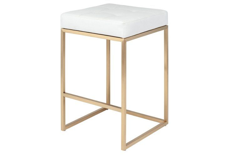 Love But No Back Support Lakeshore Stool White Counter Stools