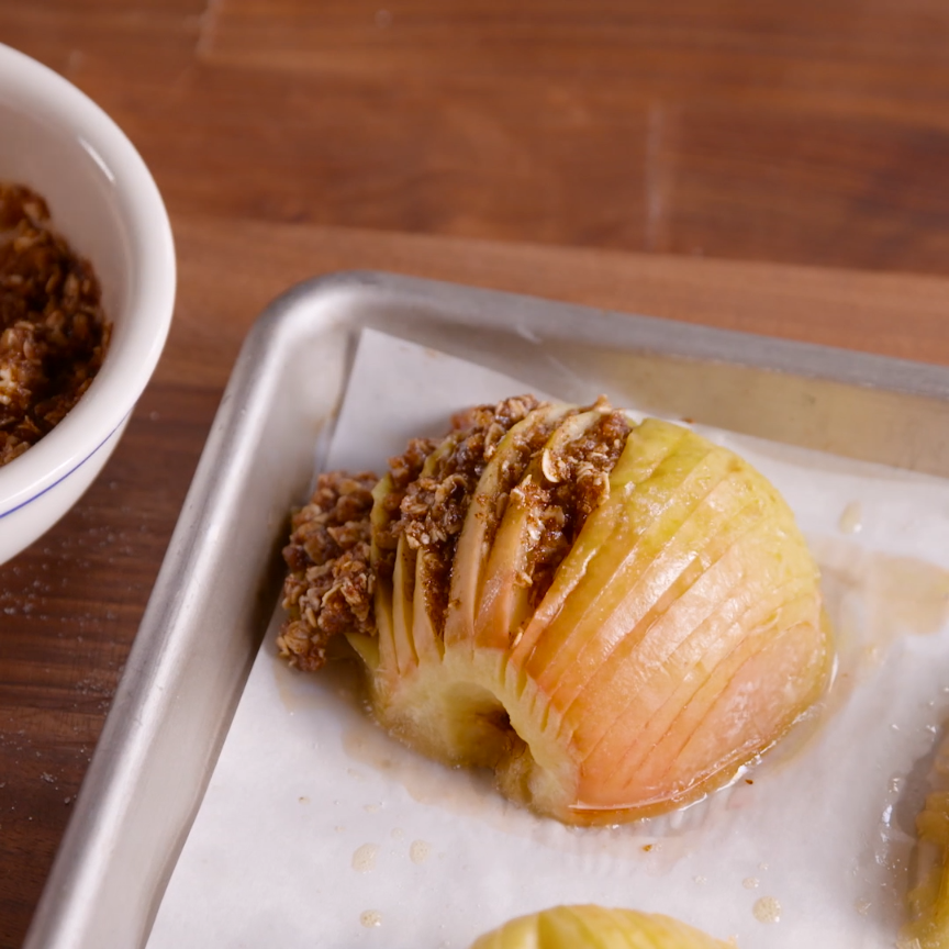 Most current Screen Crustless Apple Pies  Strategies   Hasselback apples are the easy fall dessert