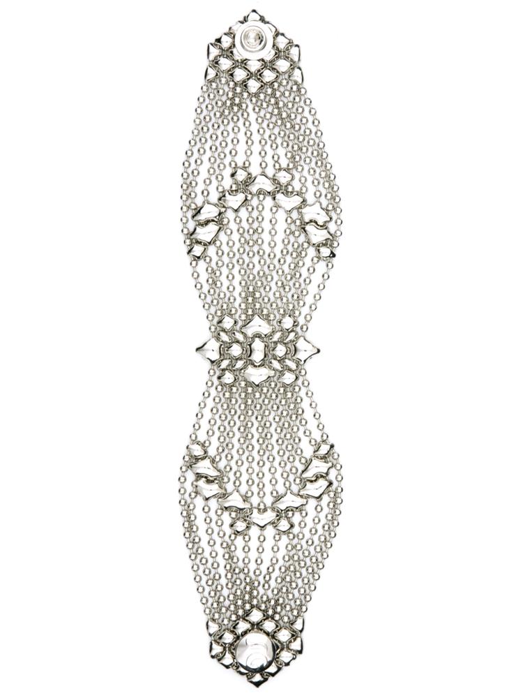 Butterfly Design B77 Bracelet - Nickel