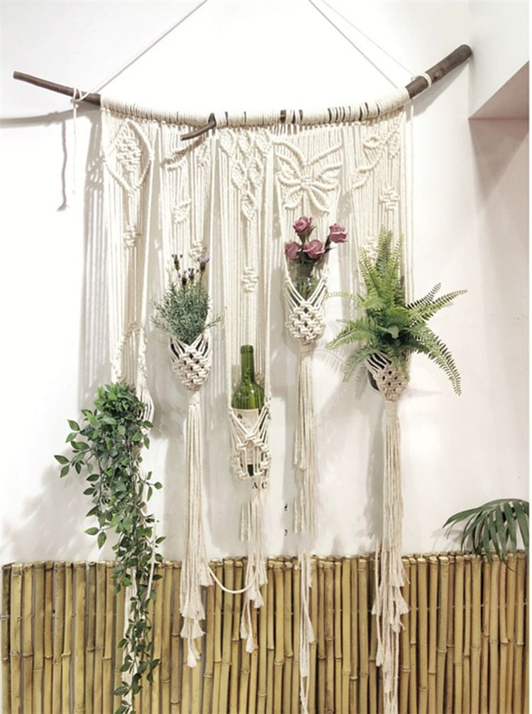 how to do macrame wall hanging
