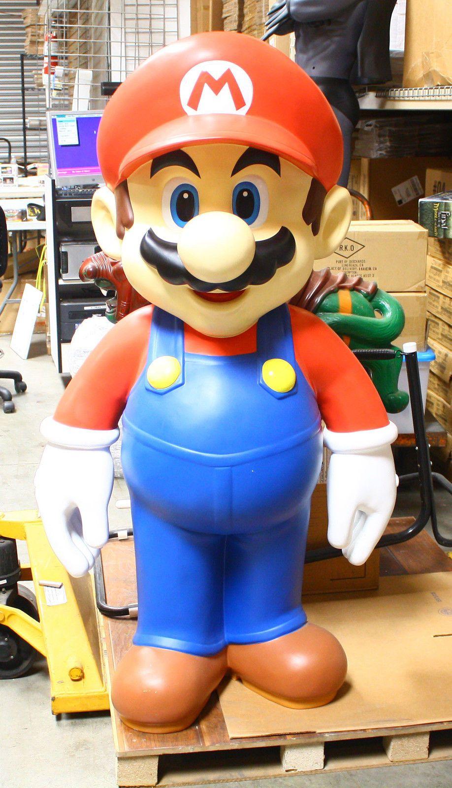 Super Mario Brother MARIO Action Figure Statue Model Figurines KO Toys Kid Gift