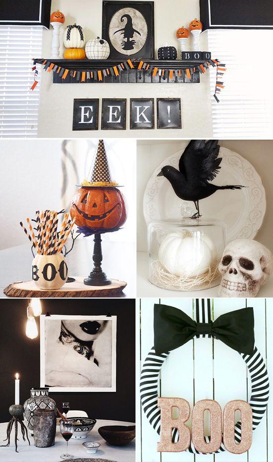 Easy halloween home decor