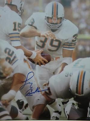 e7a4b88ab19 Larry Csonka Autographed   Signed   Certified   Framed Miami Dolphins 8x10  Photo