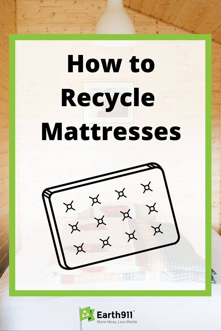 how to recycle mattresses mattress reuse recycle and zero waste