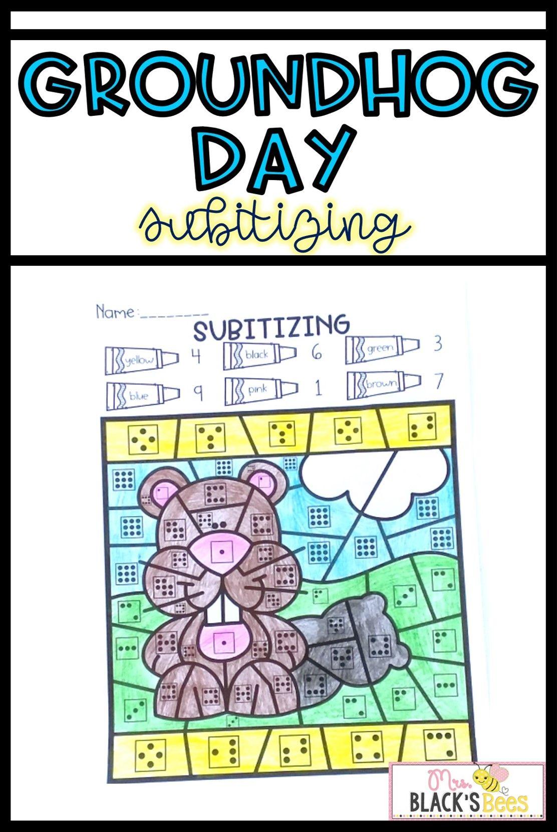 Groundhog Day Activities Subitizing Worksheets Groundhog Day Groundhog Day Activities Subitizing [ 1659 x 1112 Pixel ]