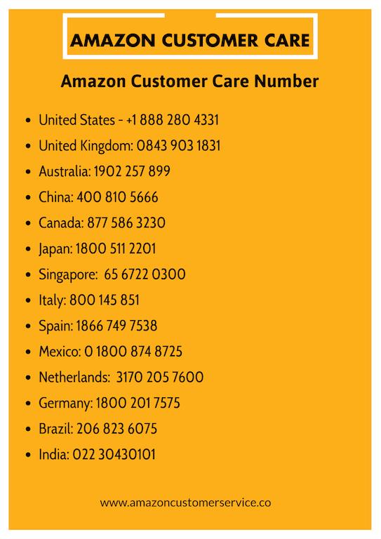 Amazon Customer Care Customer Care Amazon Credit Card Amazon