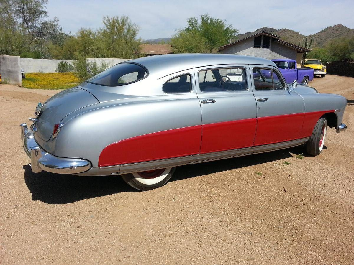 1951 Hudson Pacemaker | Old Rides 6 | Pinterest | Rust free, Sedans ...