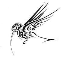 Tribal Hummingbird Designs Humming Bird By Ironfeathers Little Bird Tattoos