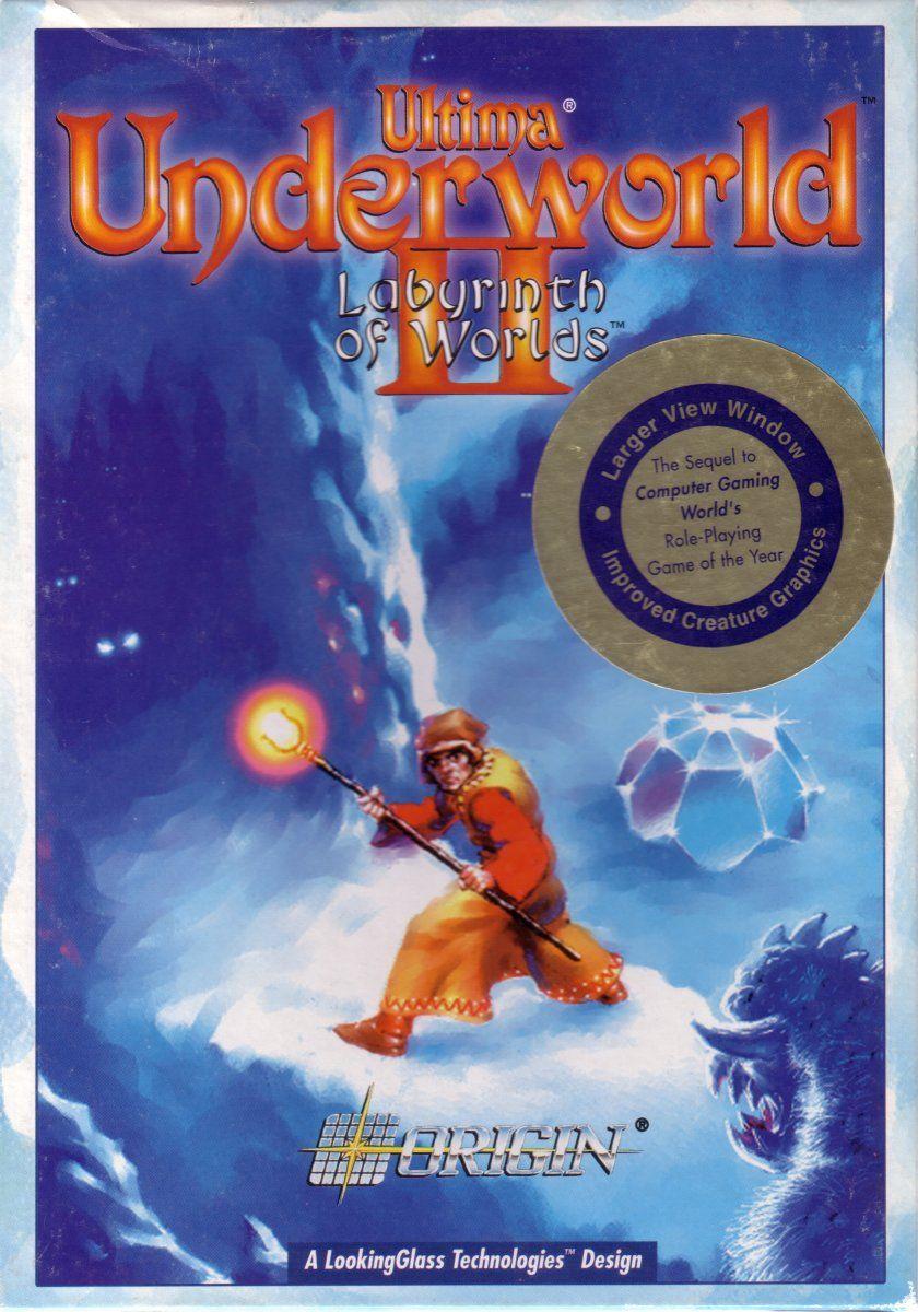 Ultima Underword 2 Cover art, Labyrinth