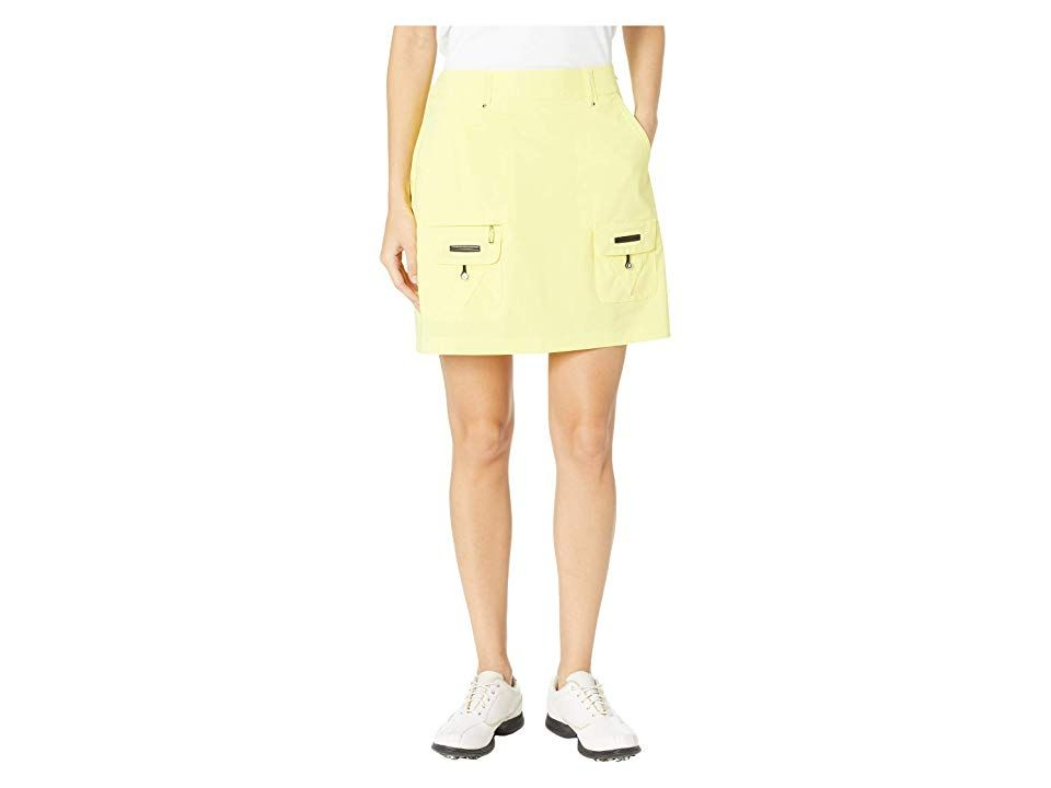 Jamie Sadock Airwear Lightweight Skort Bannarama Yellow Womens Skort Make your move on the back nine in this Jamie Sadock skort Lightweight stretch poly blend provides fo...