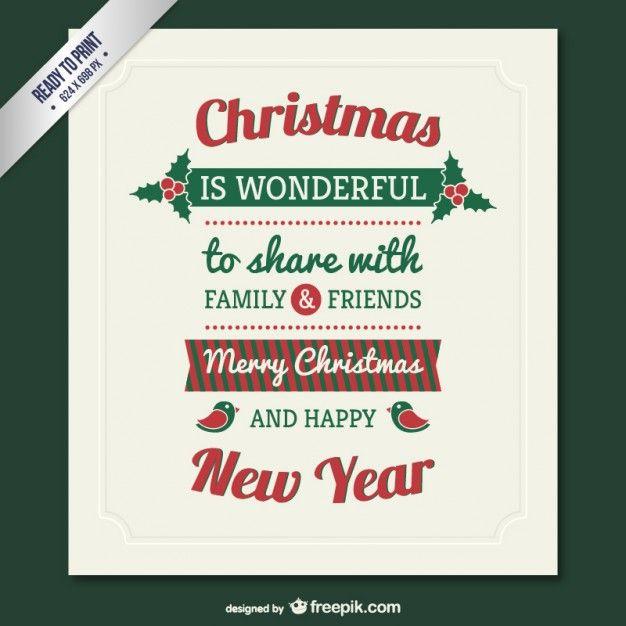 Vintage Christmas · Vector FreeChristmas ...
