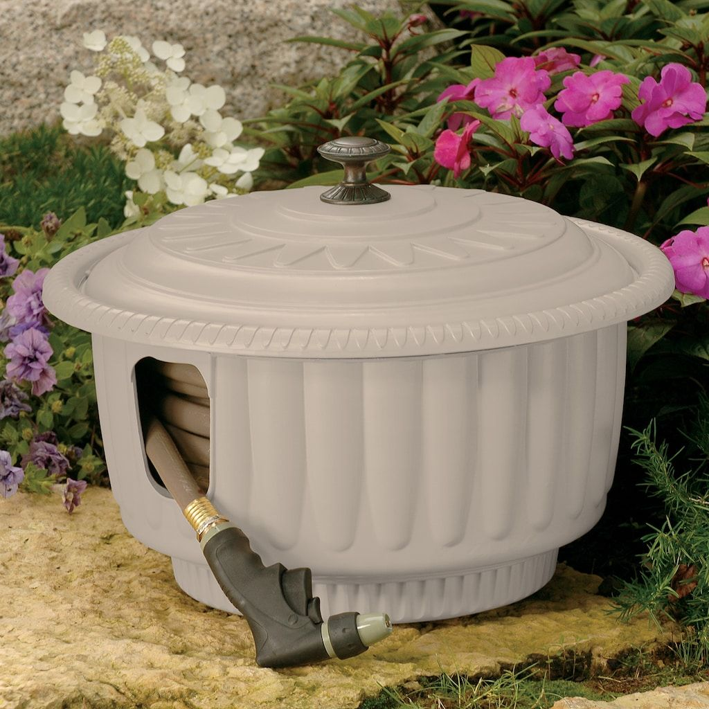 Suncast 50ft. Garden Hose Reel and Storage Container