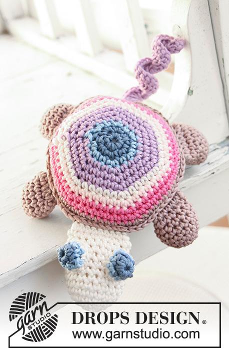 Timmy The Turtle Drops Baby 13 31 Free Crochet Patterns By Drops Design In 2020 Crochet Patterns Free Crochet Pattern Crochet