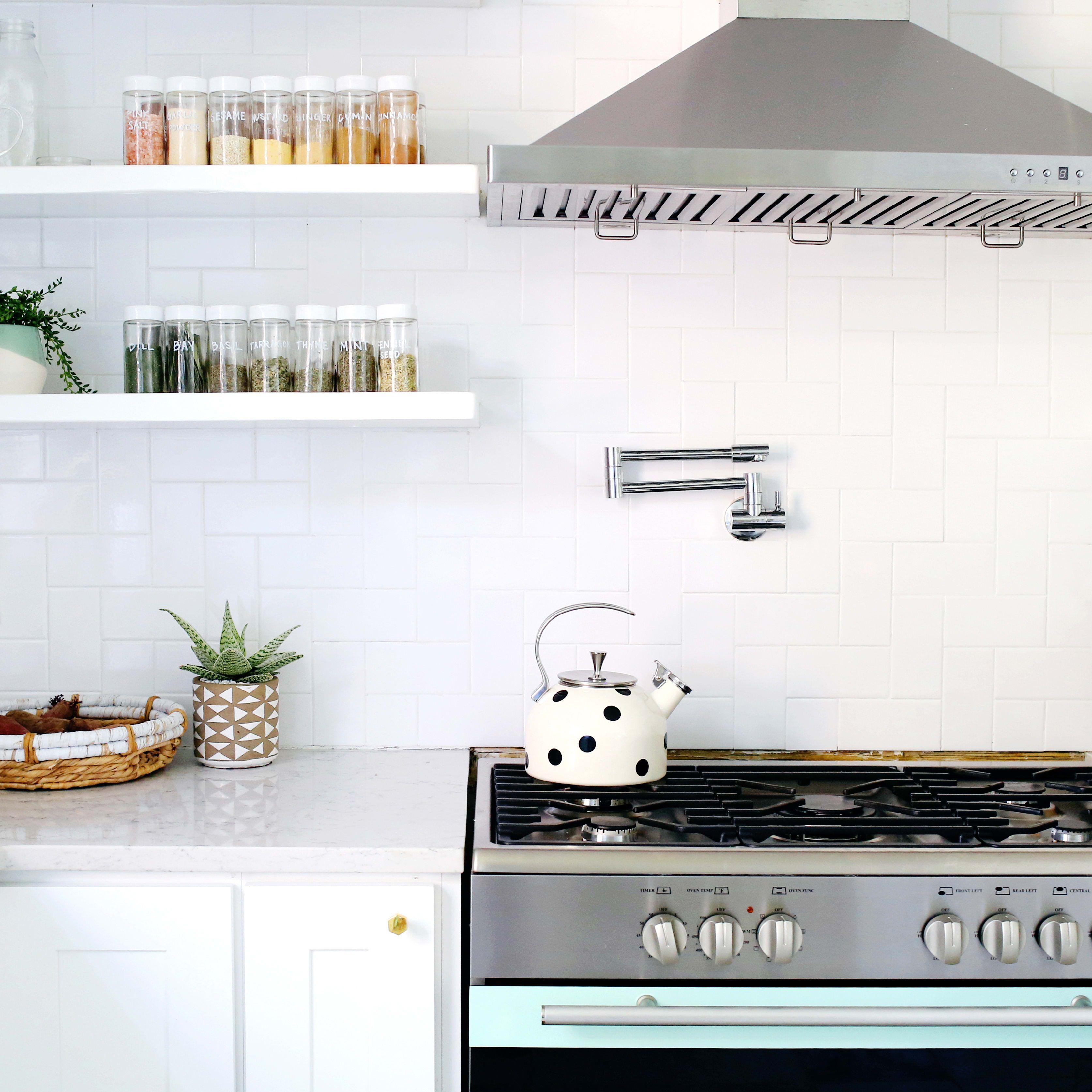 12 clever tupperware storage ideas your cluttered kitchen deserves the home edit tidy kitchen on kitchen organization tupperware id=34206