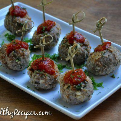 Fancy Meatball Appetizer
