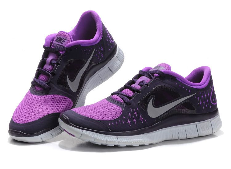 purple nike free run