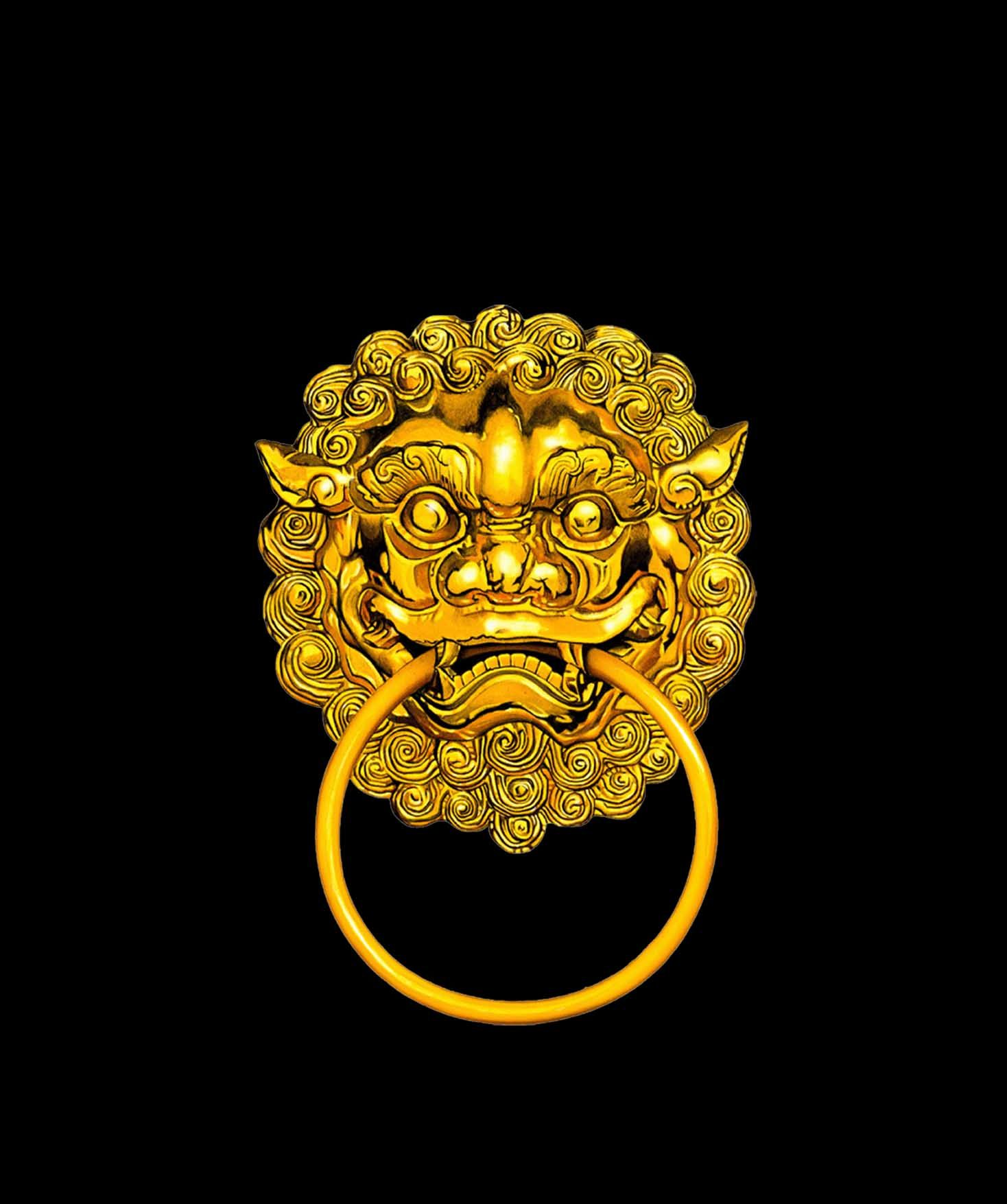 Ornate Chinese-style tiger-head door knocker gold  sc 1 st  Pinterest & Ornate Chinese-style tiger-head door knocker gold   ??   Pinterest ...