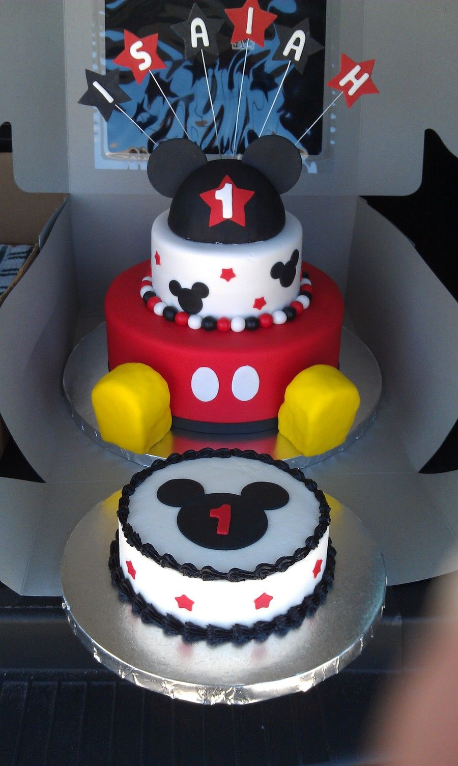Mickey Mouse 1st Birthday Axtons first birthday