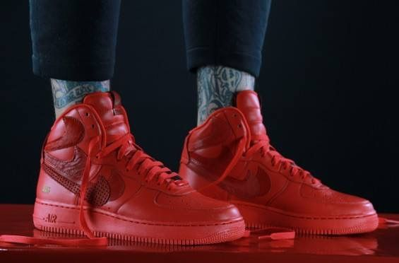 meet 7d5ee cfd8e Air Force 1 High, Nike Air Force, Michael Jordan Shoes, Air Jordan Shoes,  Air Jordans, Nike Af1, Free Shipping, Check, Red
