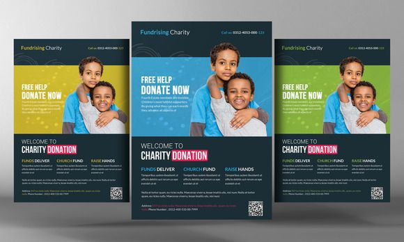 charity donation flyer template flyers posters charity and