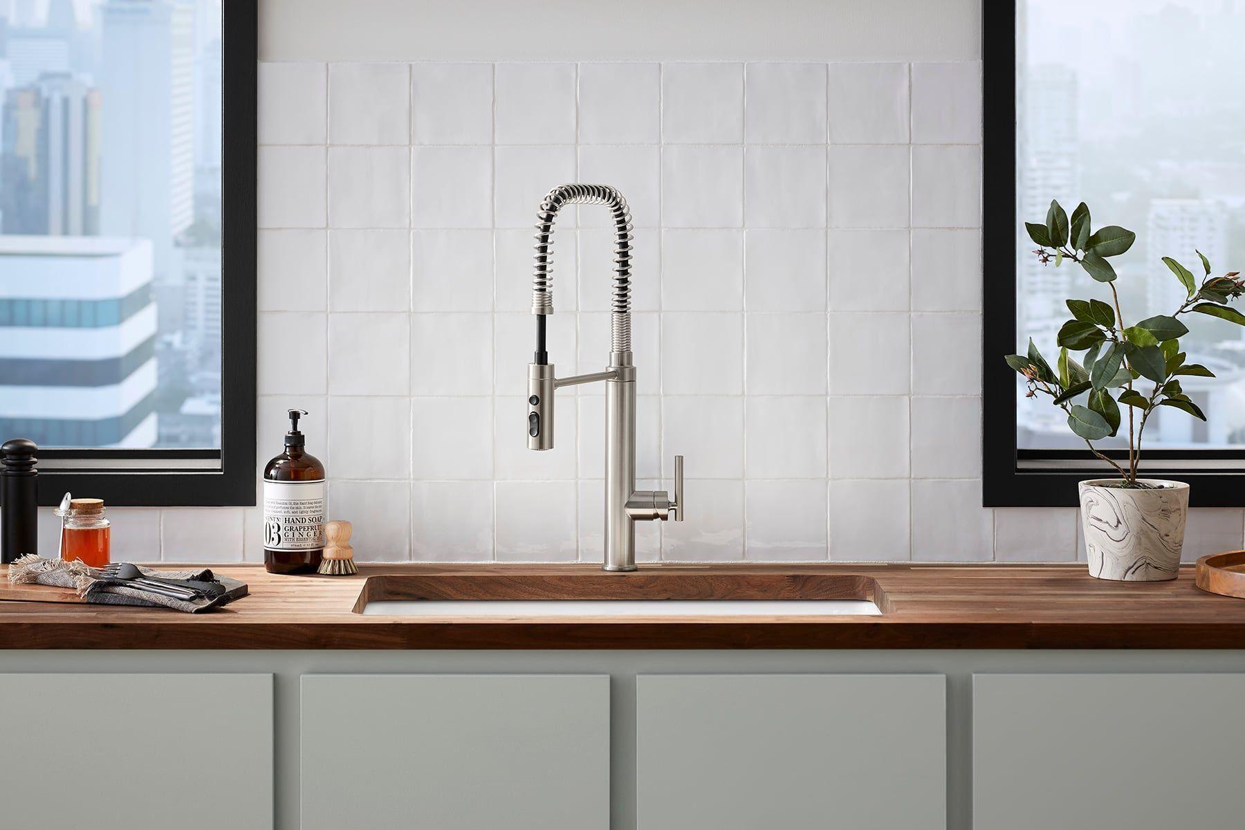 Kohler Semi Pro Kitchen Faucet Costco Reviews Kitchen Handles Single Handle Kitchen Faucet Kitchen Faucet