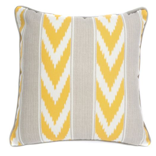 FREE SHIPPING! Shop AllModern for Jiti Ikat Stripe Outdoor Throw Pillow - Great Deals on all  products with the best selection to choose from!