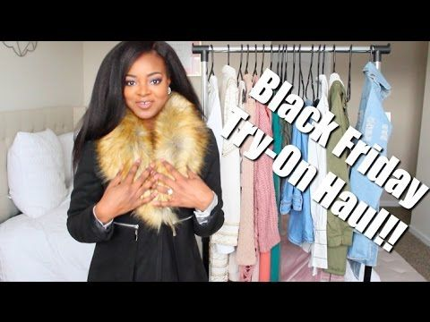 Huge Black Friday Try-On Haul!! | FashionNova, Missguided, EricDress + M...