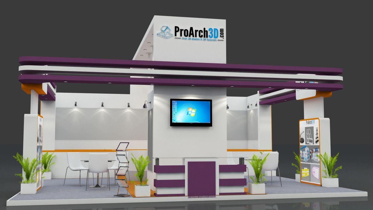 Exhibition Stall Designer : Exhibition booth design mtr sides open free