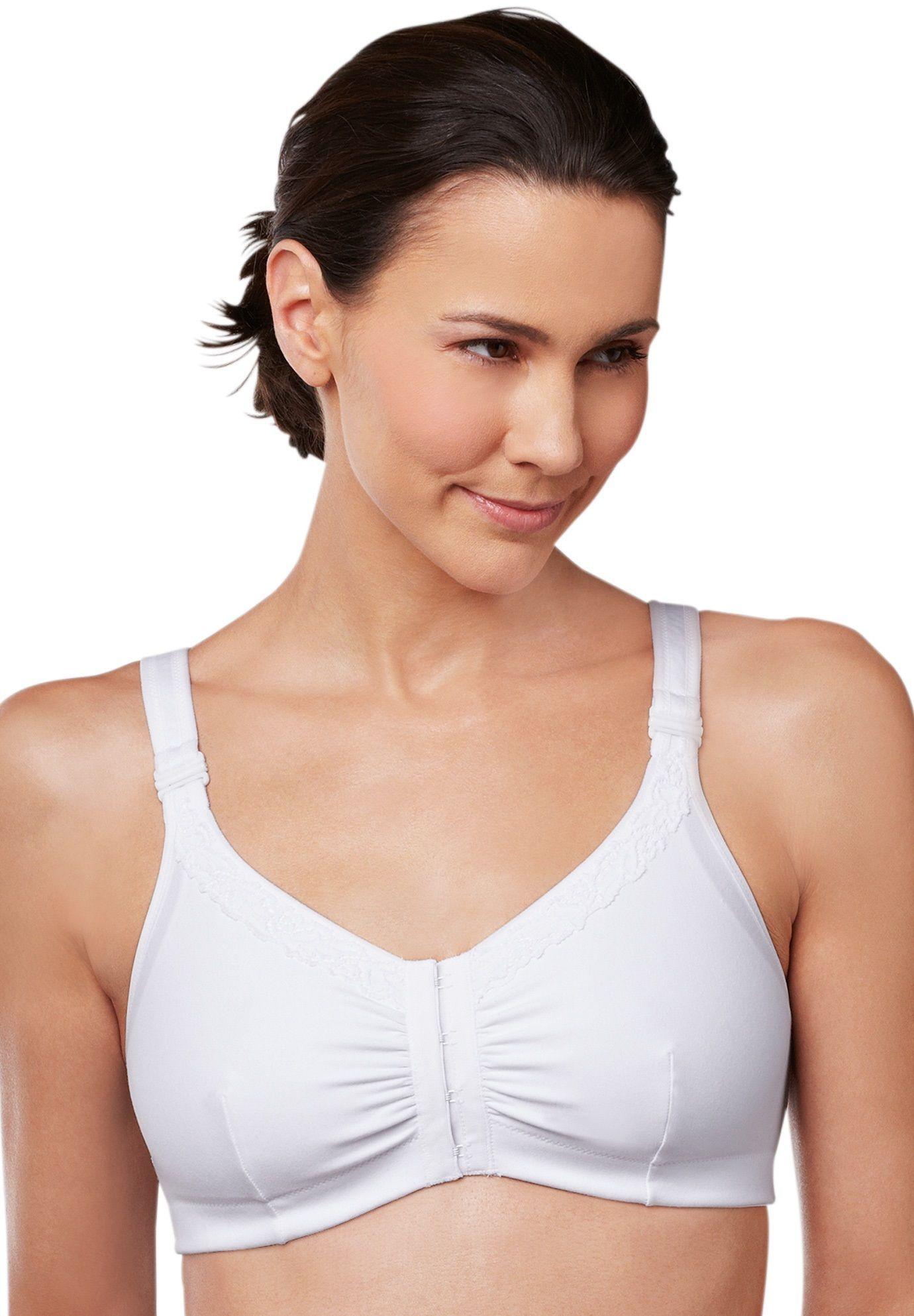 89ae883beb Amoena Hannah Vitamin E   Aloe Front Closure Leisure Bra - Women s Plus  Size Clothing