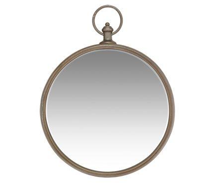 Espejo decorativo ROUND METAL 42X53CM  Leroy Merlin